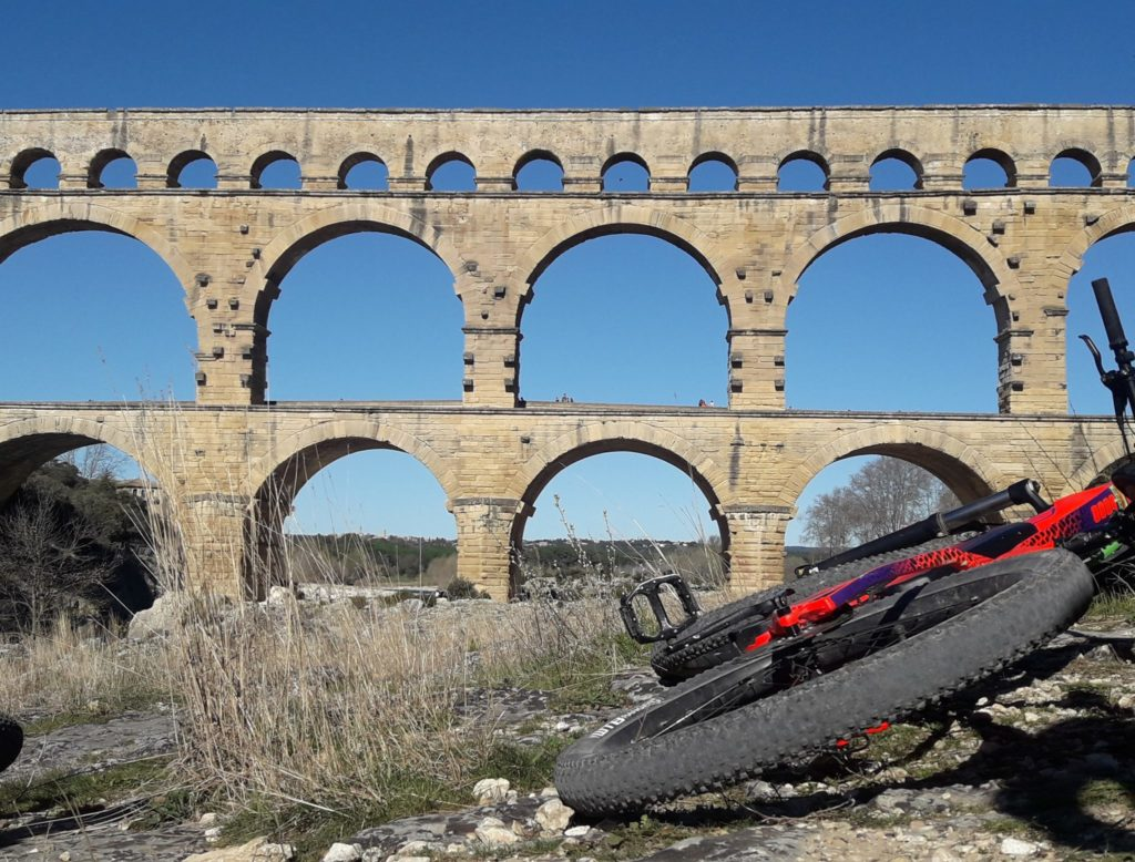 VTT électrique Pont du Gard